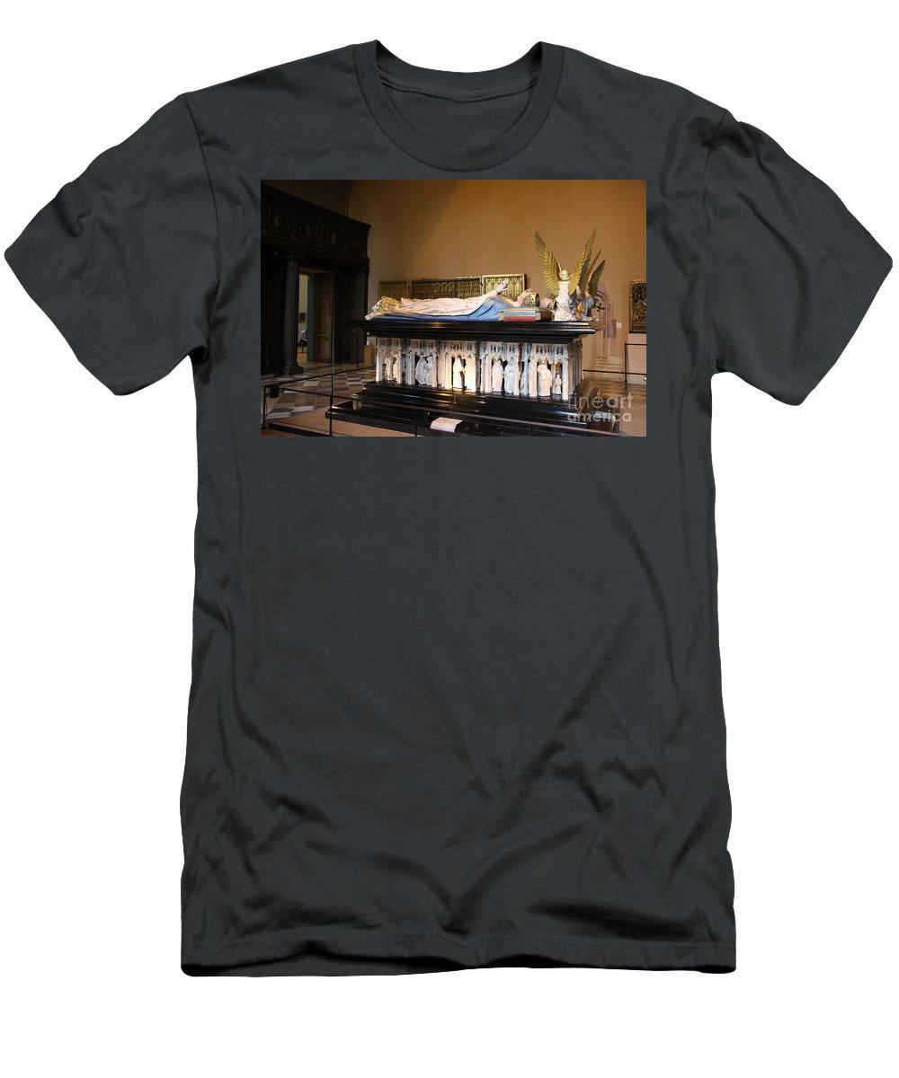 Museum T-Shirt featuring the photograph Salle de Gardes - Palace Dijon by Christiane Schulze Art And Photography