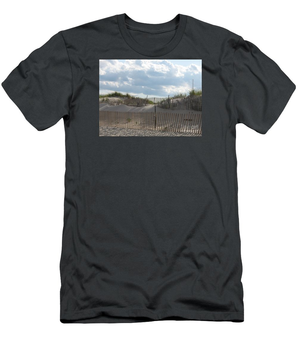 Sand Men's T-Shirt (Athletic Fit) featuring the photograph Sand Dune by Christiane Schulze Art And Photography