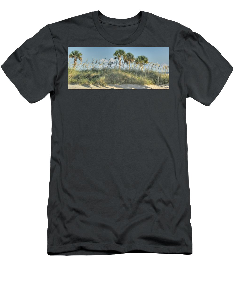 Florida Men's T-Shirt (Athletic Fit) featuring the photograph Sand Dune by Jane Luxton