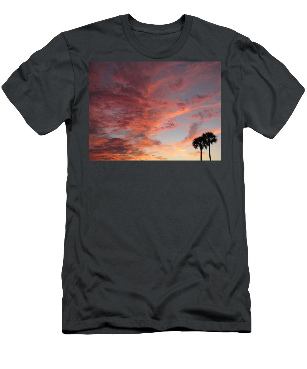 Inspired Men's T-Shirt (Athletic Fit) featuring the photograph Santa's Tumult by Ron Tackett