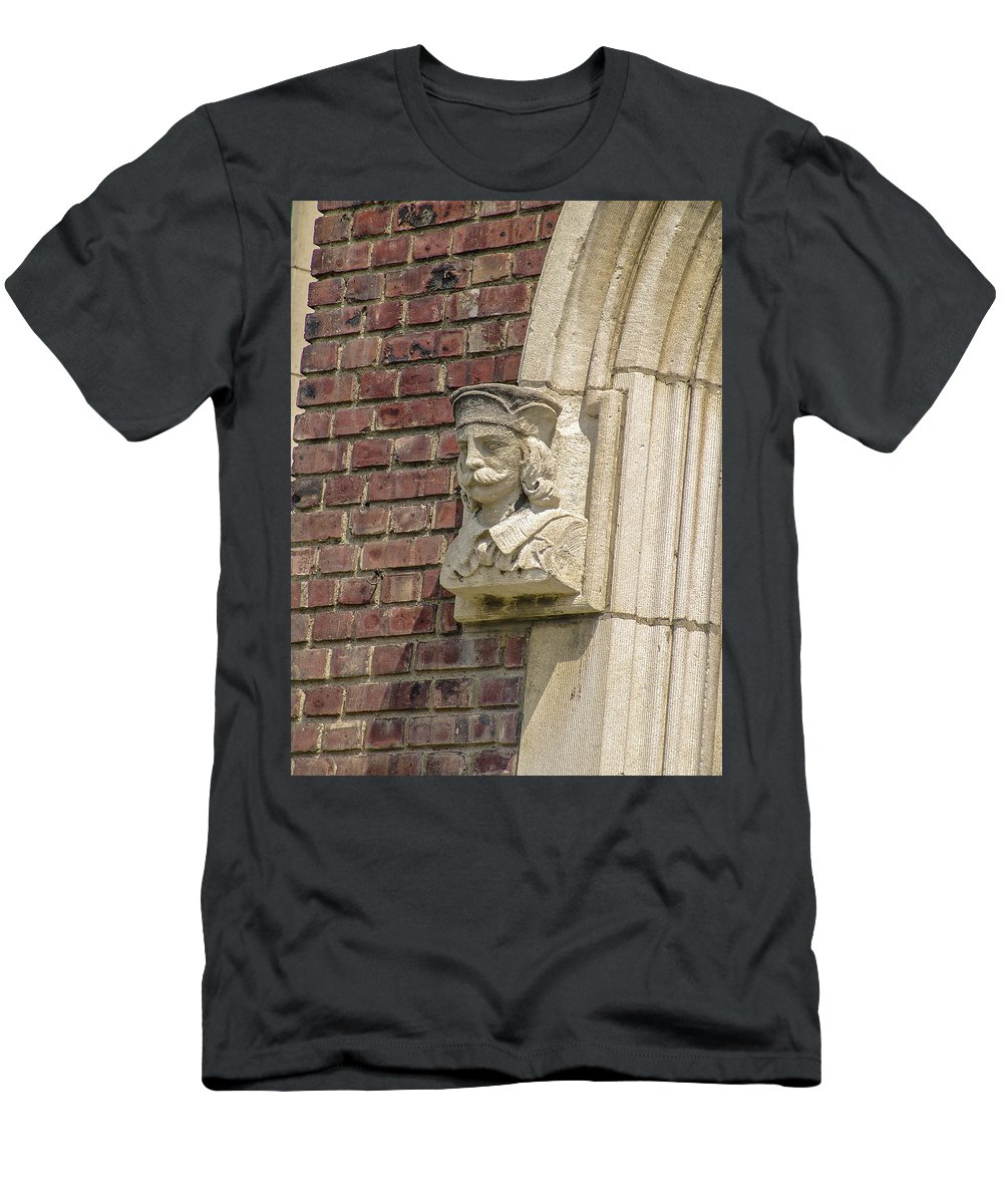Scholar Men's T-Shirt (Athletic Fit) featuring the photograph School Sholar by Eric Swan