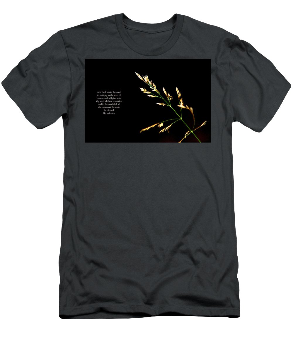 Nature Men's T-Shirt (Athletic Fit) featuring the photograph Seed by Debbie Nobile