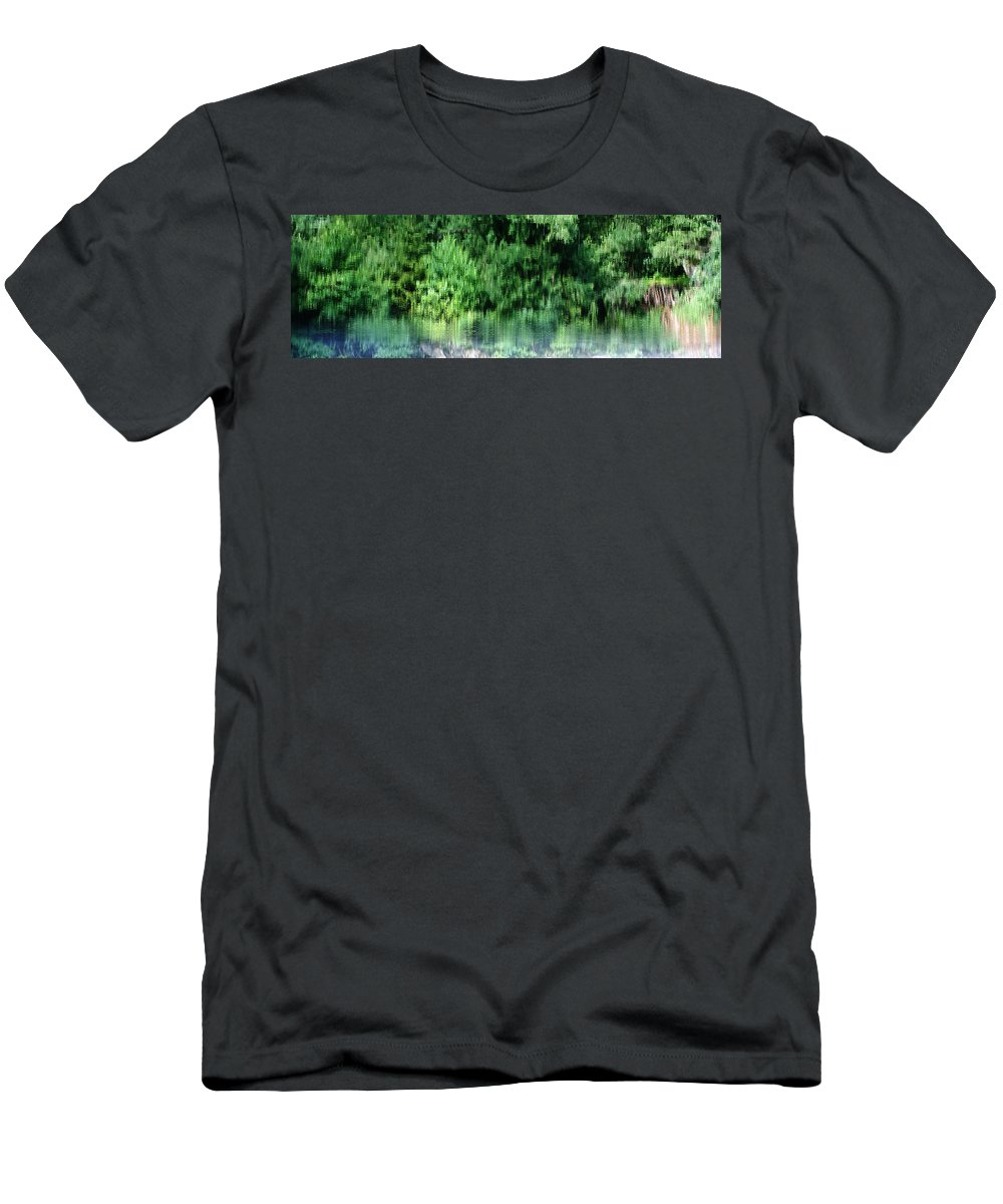 Shore Men's T-Shirt (Athletic Fit) featuring the photograph Shore Line by Stanislav Killer