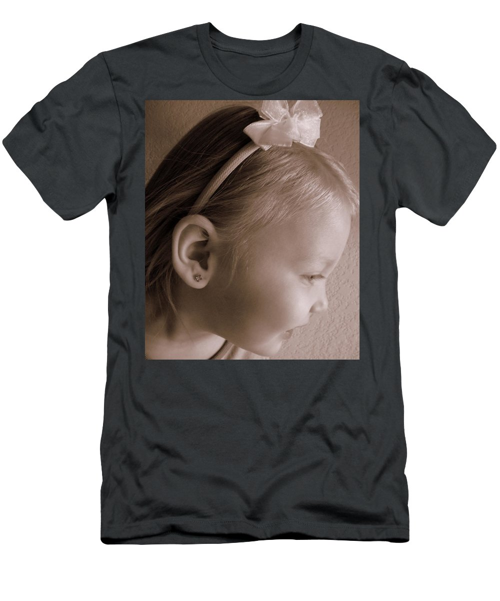 Baby Men's T-Shirt (Athletic Fit) featuring the photograph Side Glow by Jackie Austin