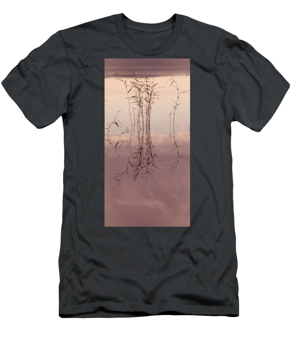 Nature Men's T-Shirt (Athletic Fit) featuring the photograph Silent Rhapsody. Sacred Music II by Jenny Rainbow