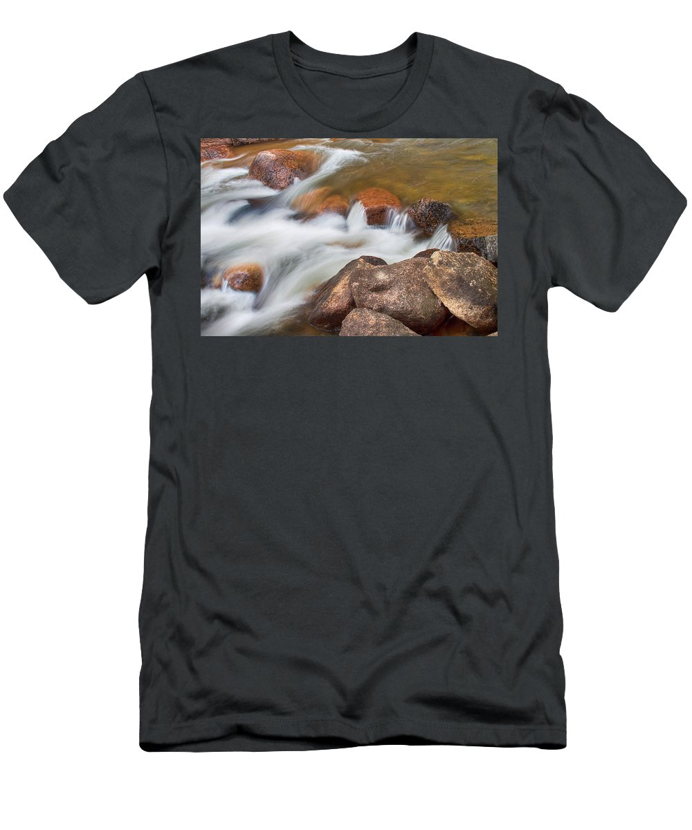 Outdoors Men's T-Shirt (Athletic Fit) featuring the photograph Slow Flow by James BO Insogna