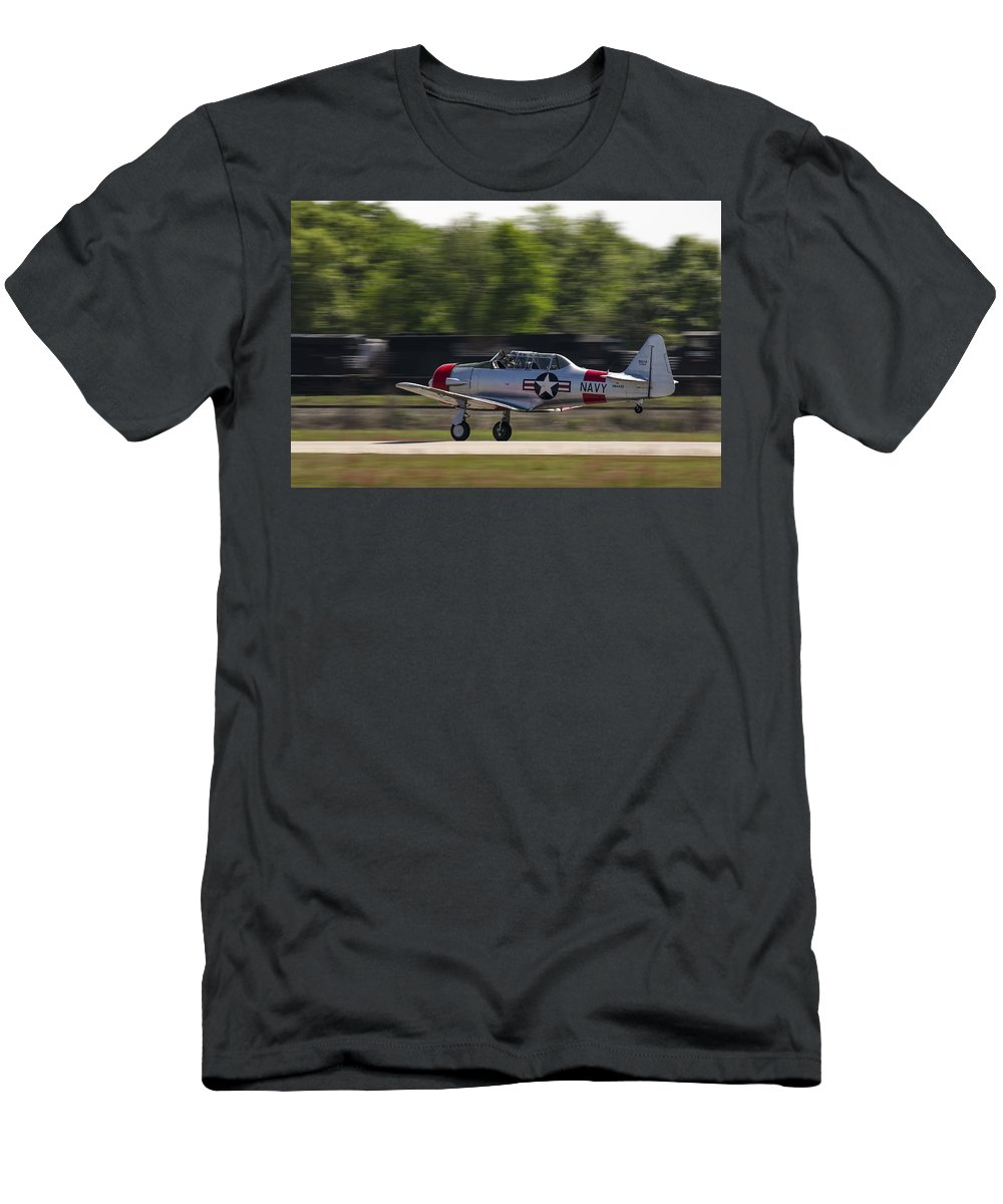 At6 Men's T-Shirt (Athletic Fit) featuring the photograph SNJ by Steven Richardson