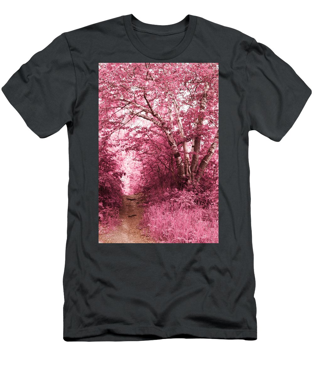 Landscapes Men's T-Shirt (Athletic Fit) featuring the photograph So Far From Me by The Artist Project