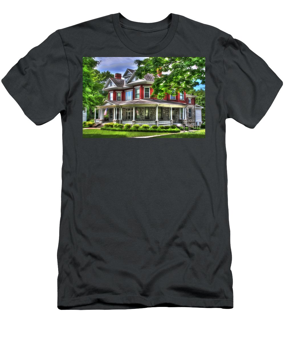 Estate Men's T-Shirt (Athletic Fit) featuring the photograph Southern Charm by Dan Stone