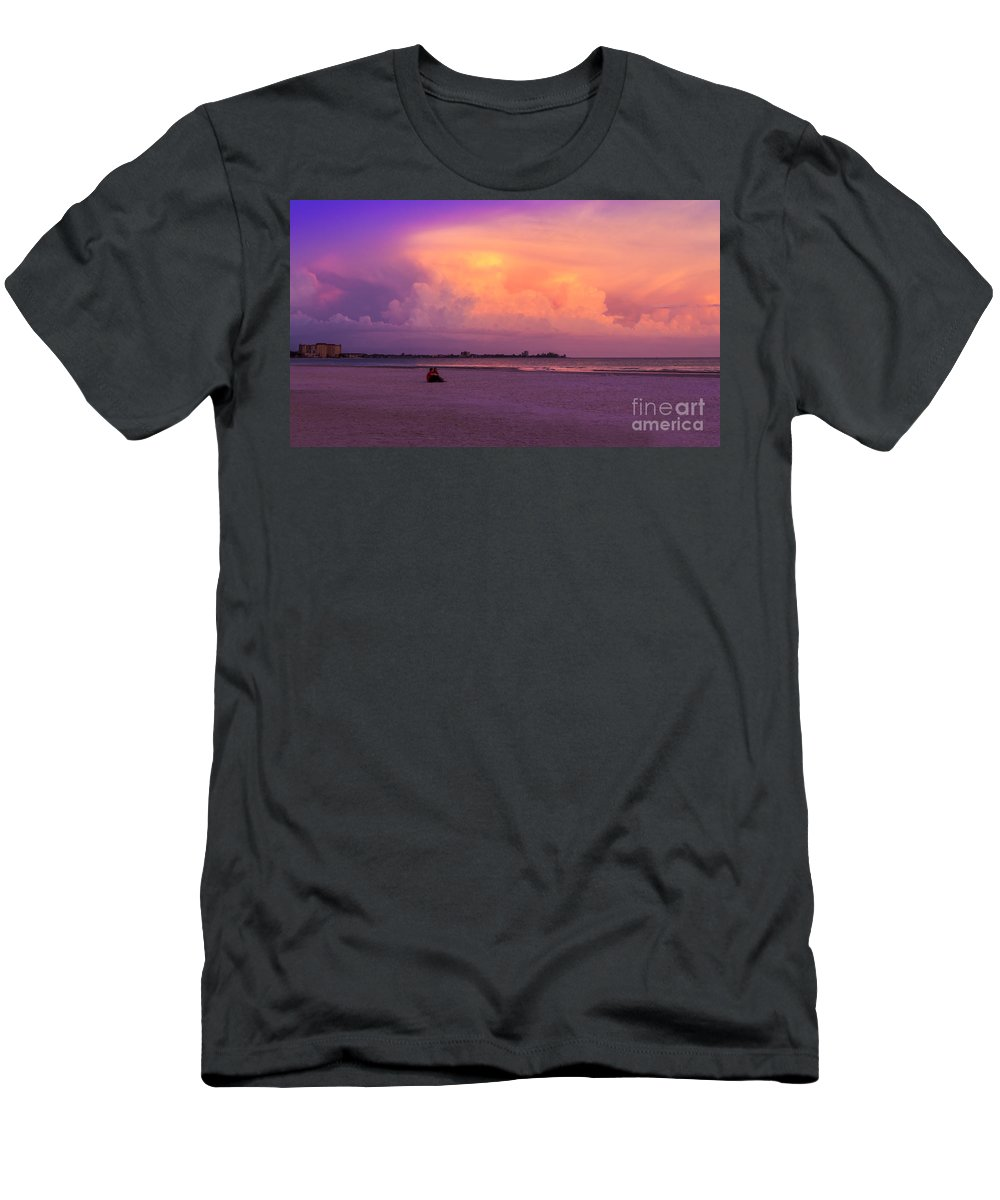 Spring Break Men's T-Shirt (Athletic Fit) featuring the photograph Spring Break by Marvin Spates