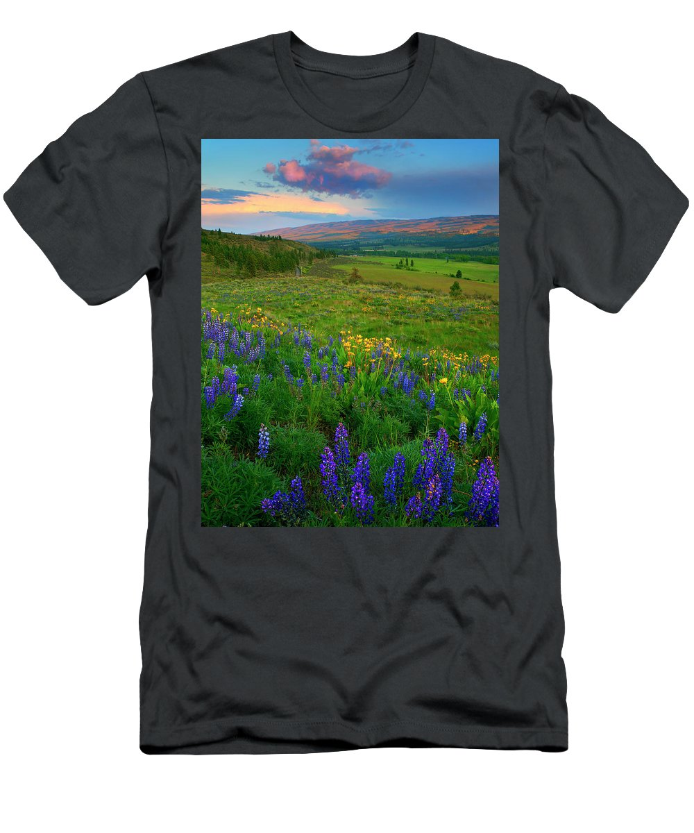 Spring Storm T-Shirt featuring the photograph Spring Storm Passing by Mike Dawson