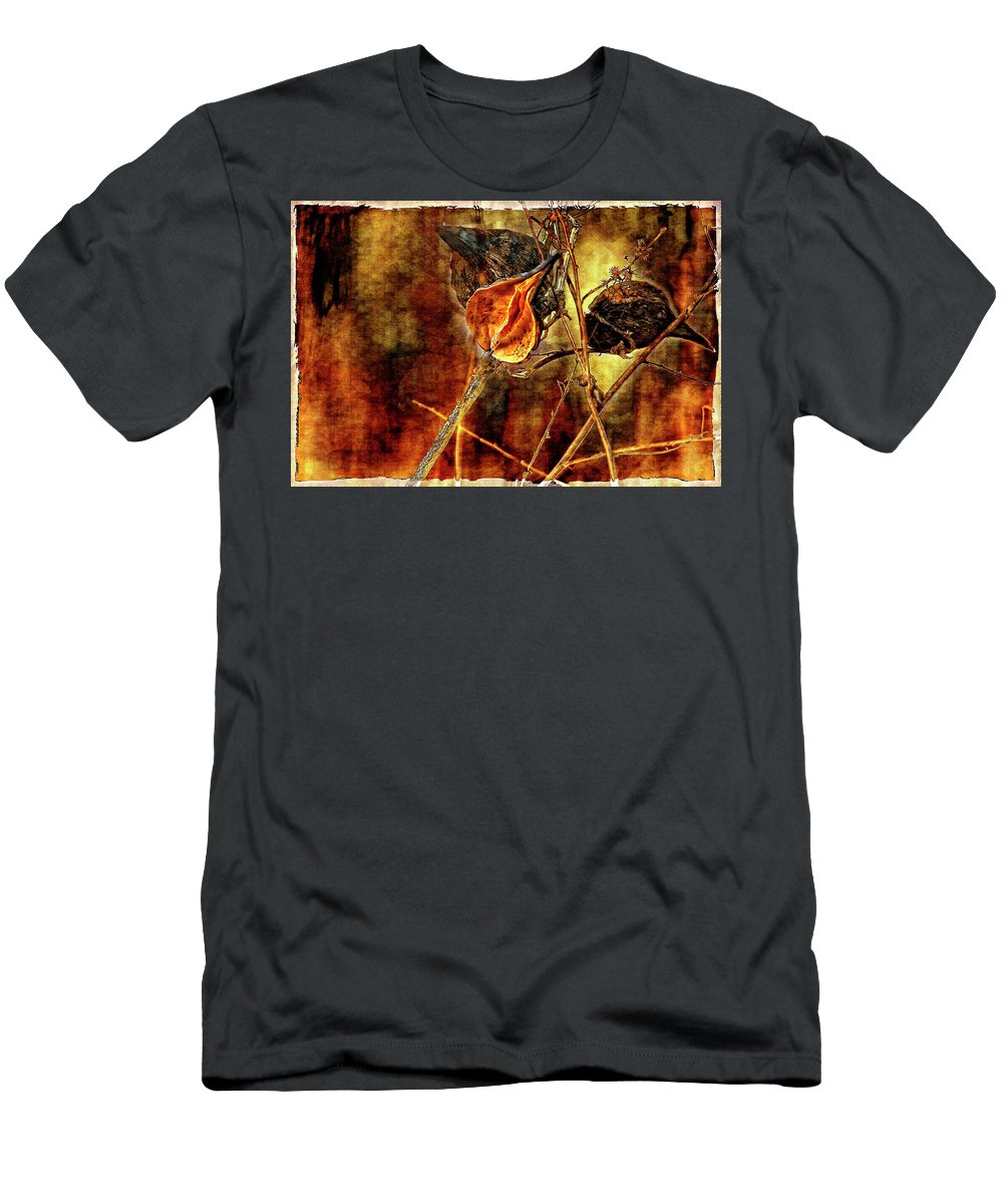 Weeds Men's T-Shirt (Athletic Fit) featuring the photograph Still Life Study II by Steve Harrington