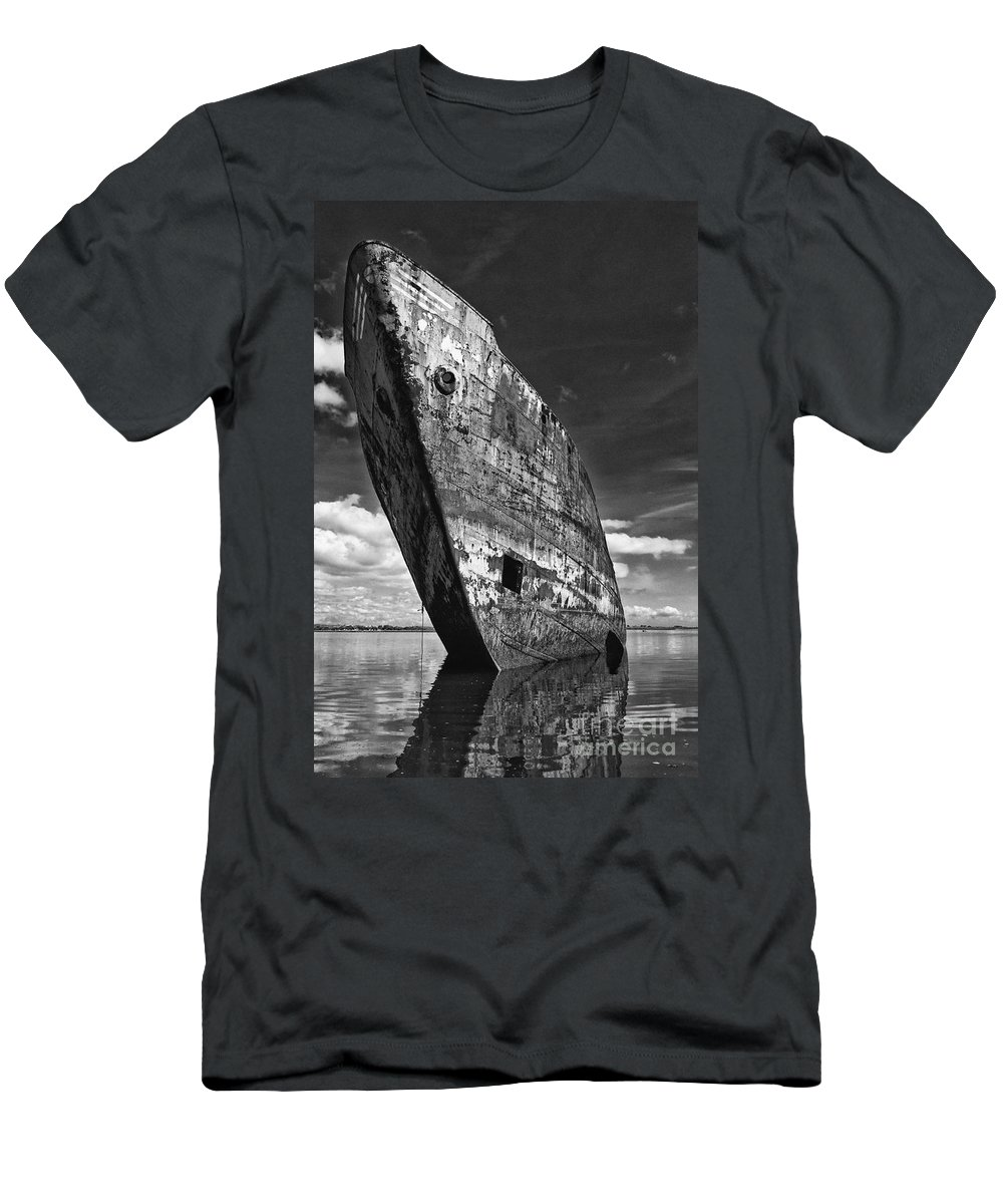 Ship Men's T-Shirt (Athletic Fit) featuring the photograph Still Proud by Jose Elias - Sofia Pereira