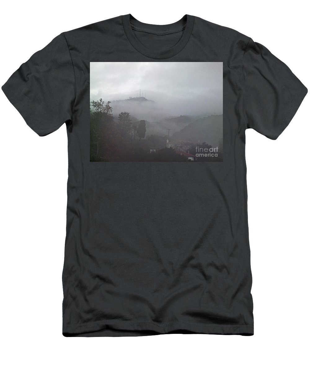 America Men's T-Shirt (Athletic Fit) featuring the photograph Storm by Howard Stapleton