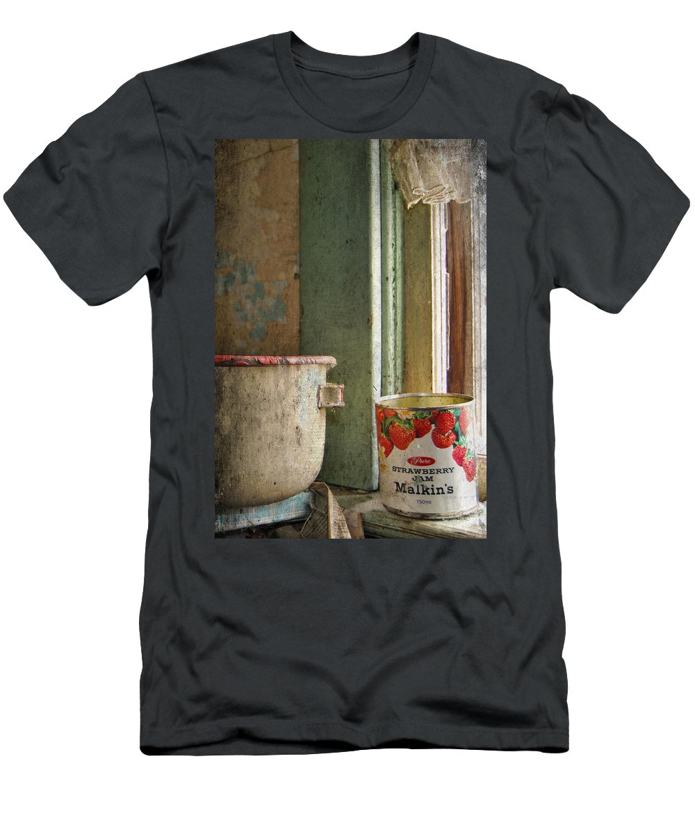 Strawberry Jam Men's T-Shirt (Athletic Fit) featuring the photograph Strawberry Jam by The Artist Project