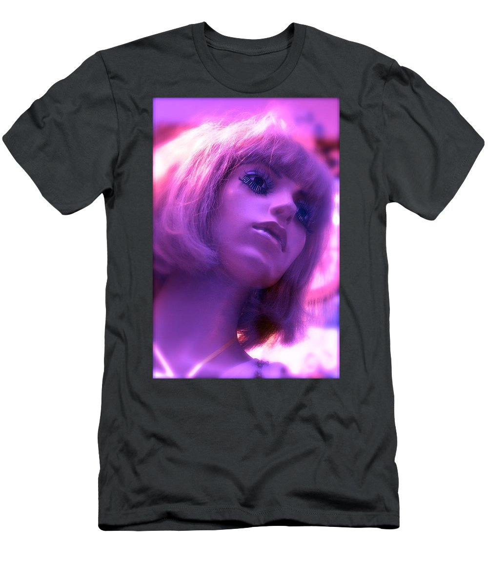 Mannequins Men's T-Shirt (Athletic Fit) featuring the photograph Strawberry Lemonade by Ira Shander