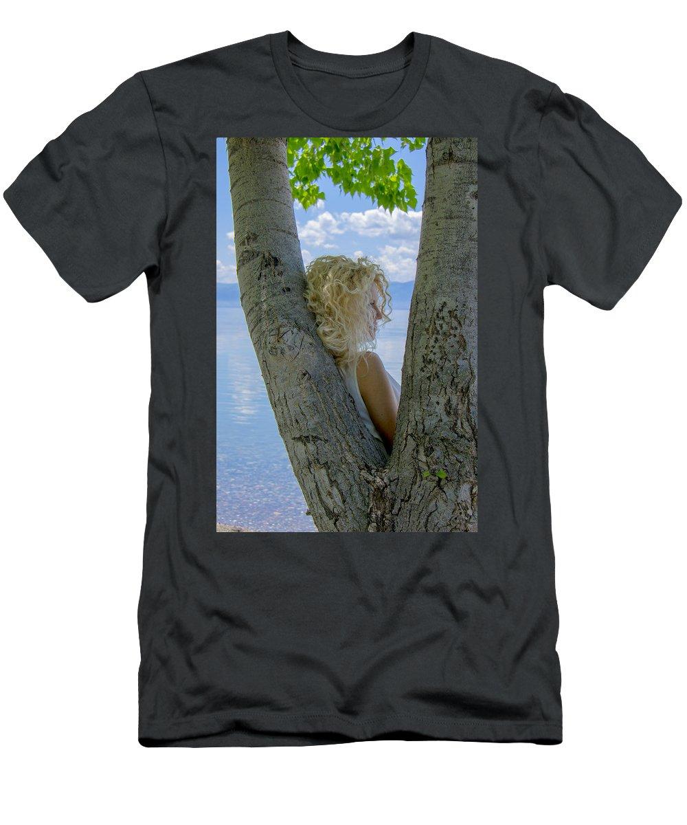 Summer Colors Men's T-Shirt (Athletic Fit) featuring the photograph Summer Colors by Sotiris Filippou