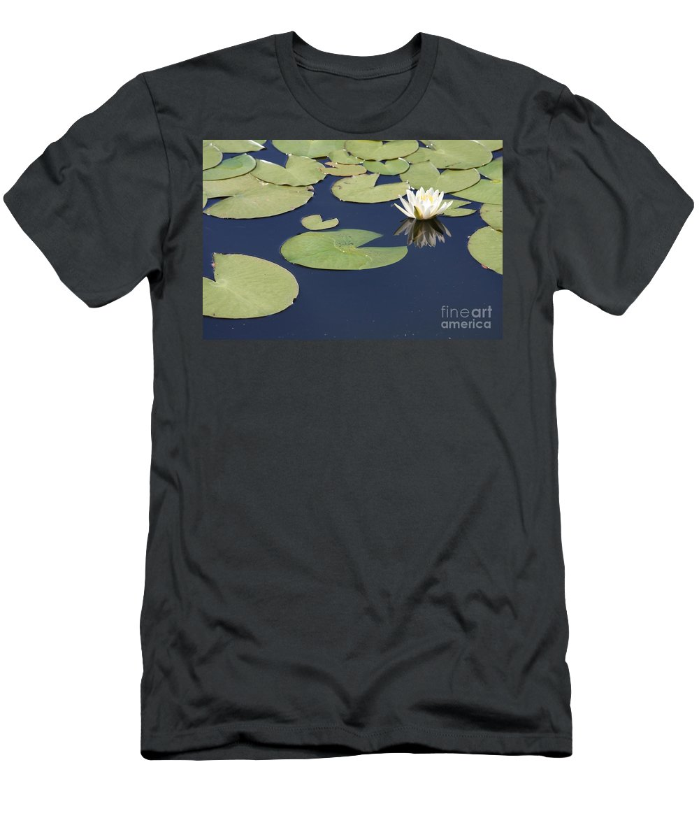 Lily Pond T-Shirt featuring the photograph Sunny Lily Pond by Carol Groenen