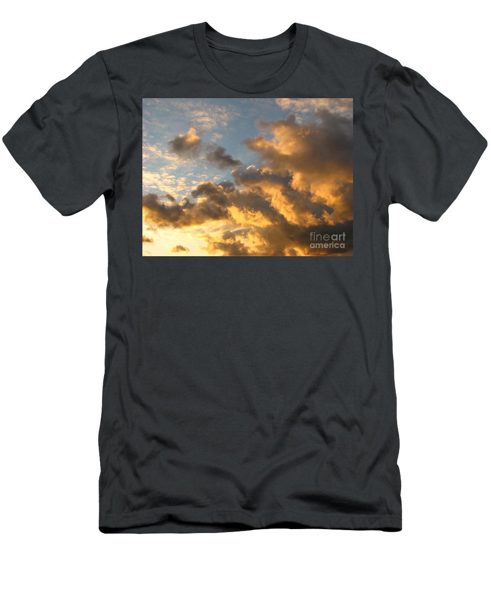 Sunrise Men's T-Shirt (Athletic Fit) featuring the photograph Sunrise by Michael Krek