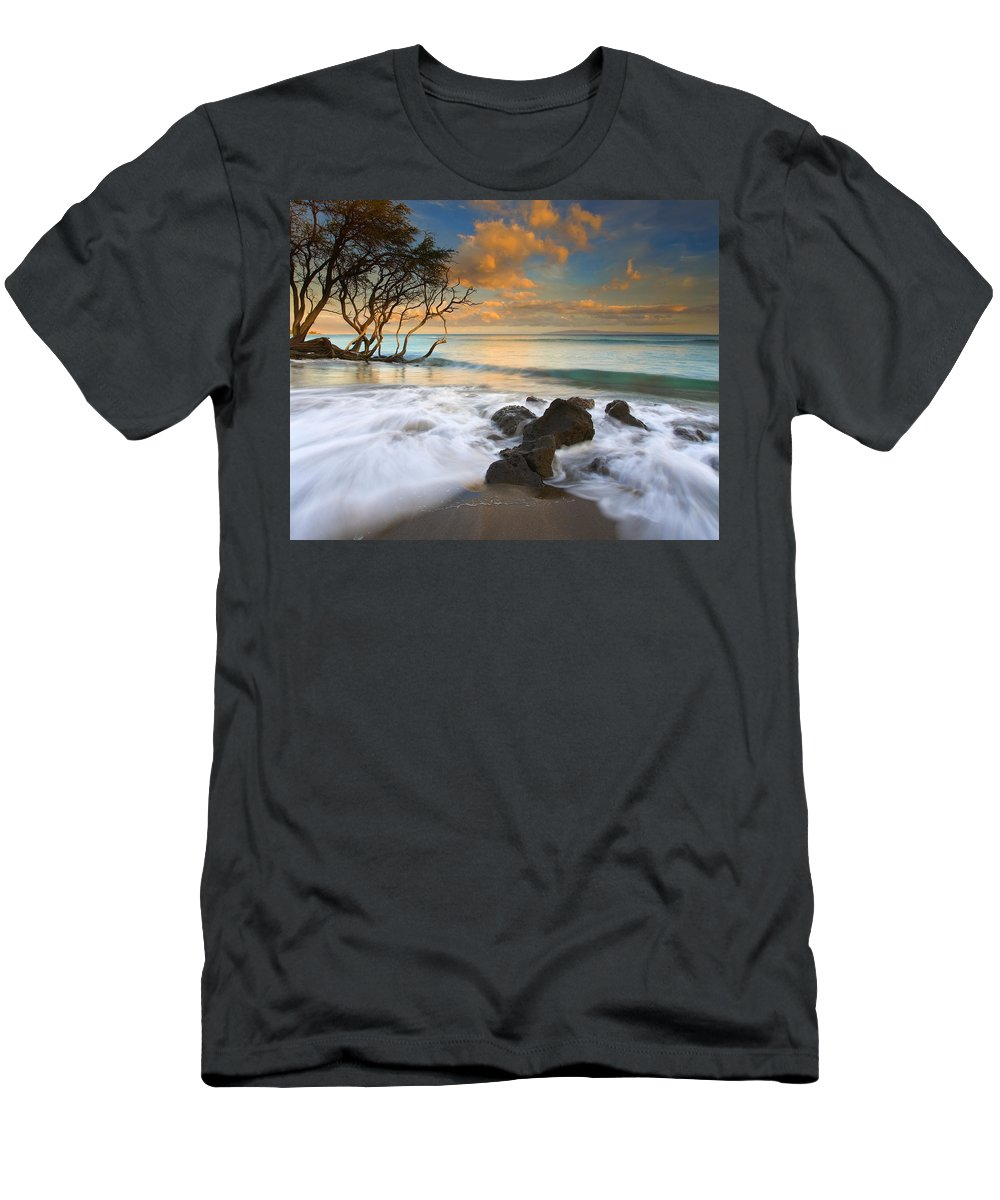 Sunset T-Shirt featuring the photograph Sunset in Paradise by Mike Dawson