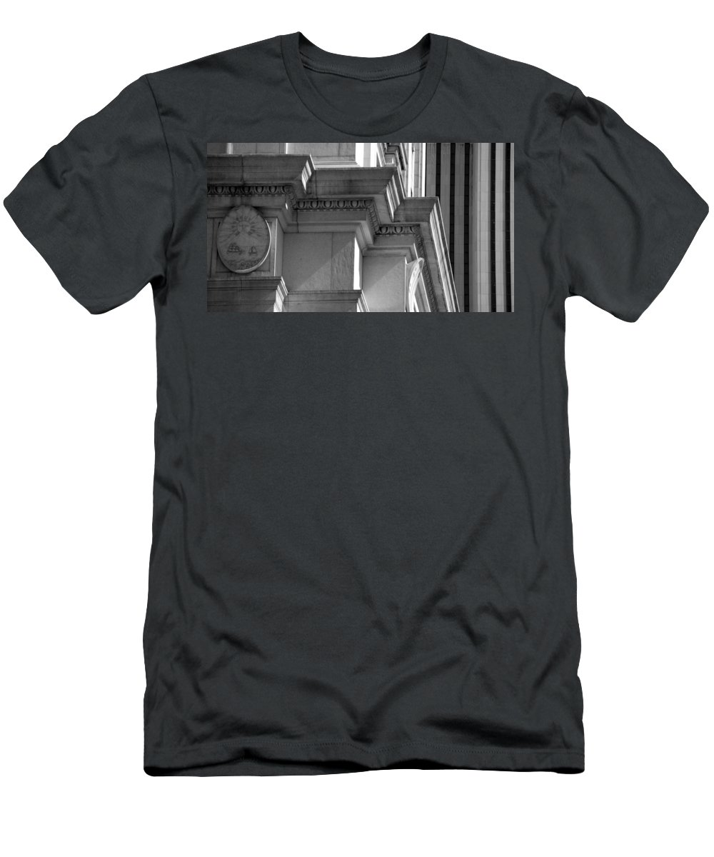Black And White Men's T-Shirt (Athletic Fit) featuring the photograph Sunset by Rob Hans