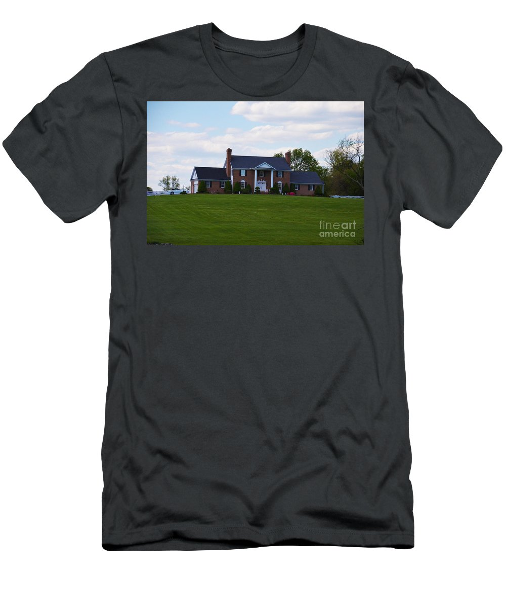 Men's T-Shirt (Athletic Fit) featuring the photograph Sweet Home by April Simmons