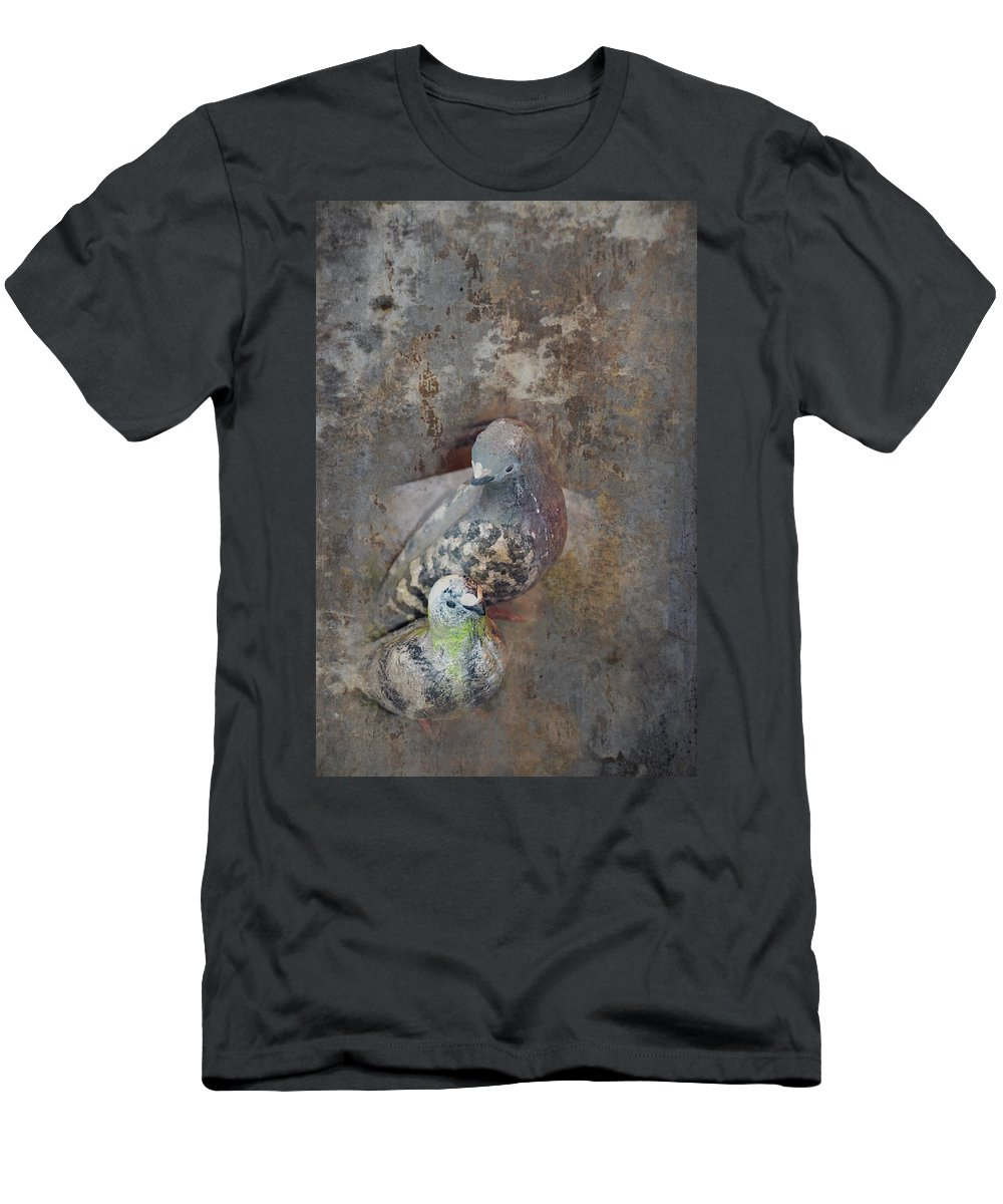 Dove Men's T-Shirt (Athletic Fit) featuring the photograph Sweet Pair by Carla Parris