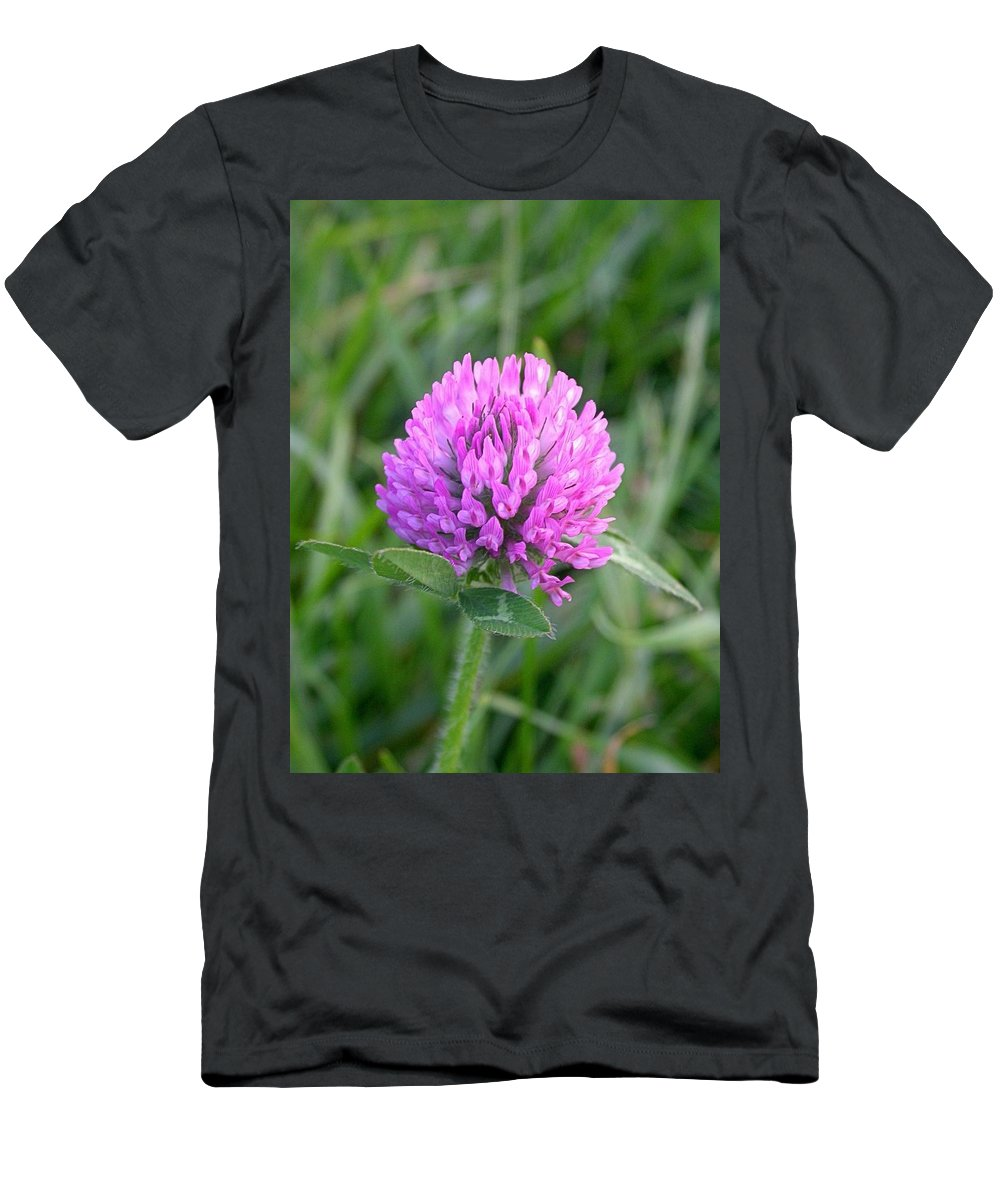 Sweet Clover Picture Men's T-Shirt (Athletic Fit) featuring the photograph Sweet Pink Clover by Cynthia Wallentine