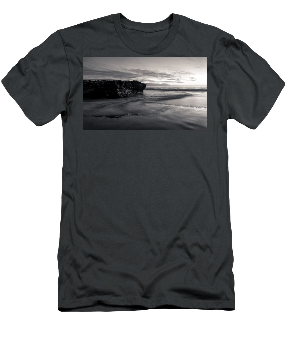 Sea Men's T-Shirt (Athletic Fit) featuring the photograph Swirl by Alex Lapidus