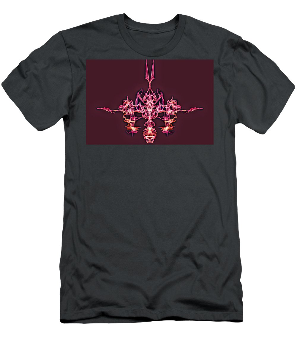 Men's T-Shirt (Athletic Fit) featuring the digital art Symmetry Art 4 by Cathy Anderson