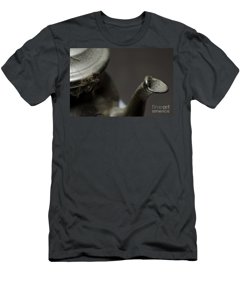Tea Men's T-Shirt (Athletic Fit) featuring the photograph Teapot by Mats Silvan