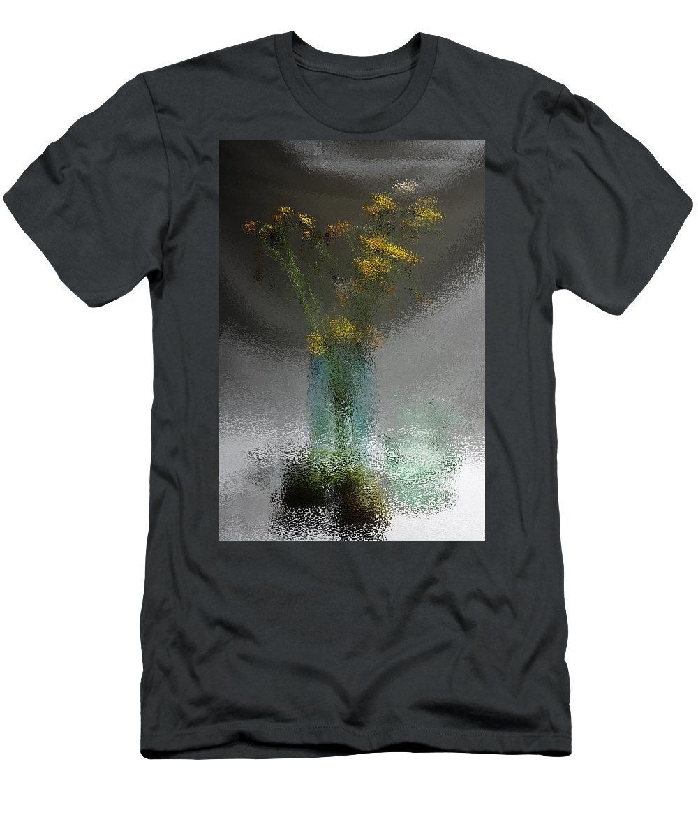 Abstract Men's T-Shirt (Athletic Fit) featuring the photograph Tender Harmony by Randi Grace Nilsberg