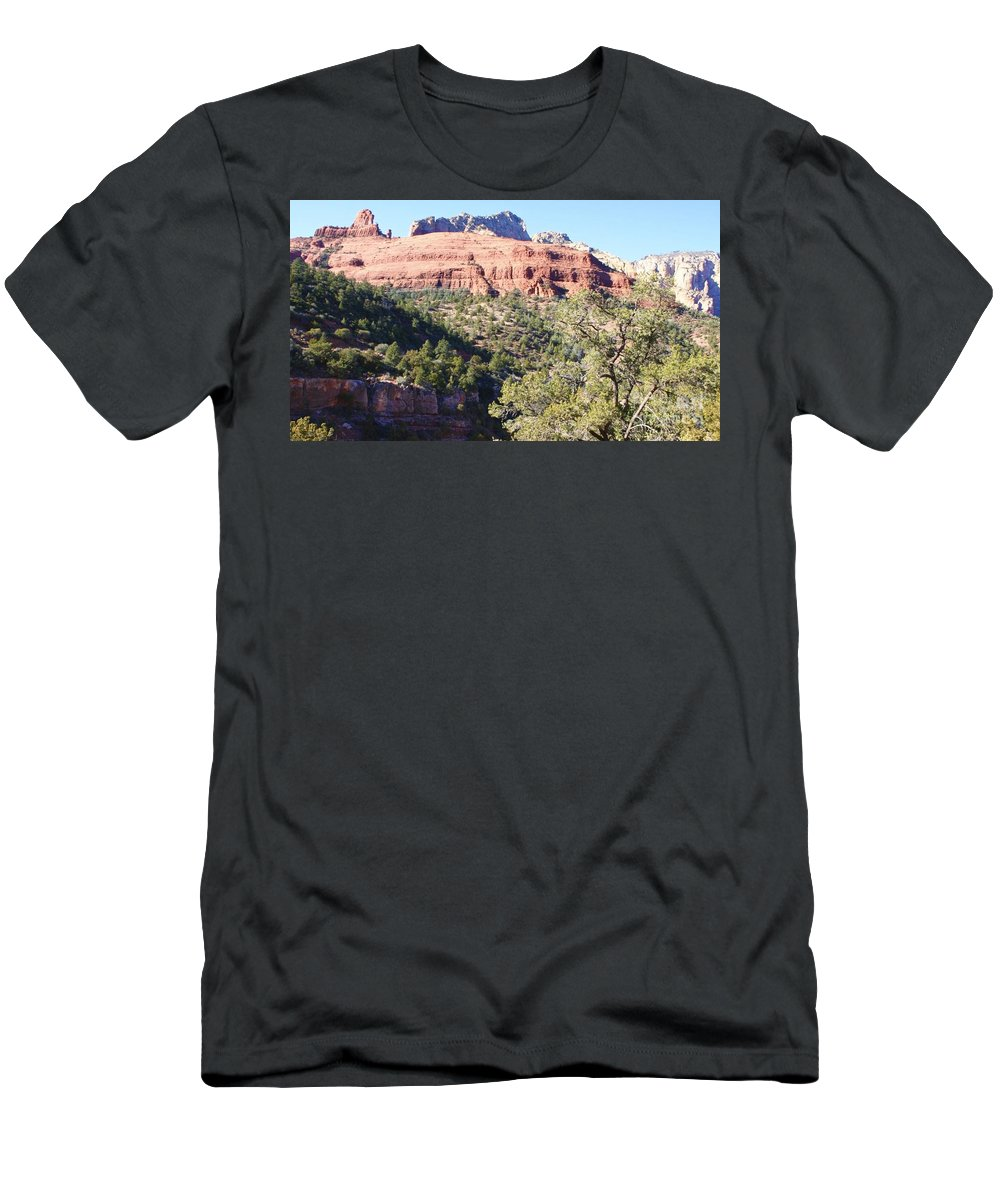 Beauty Men's T-Shirt (Athletic Fit) featuring the photograph The Beauty In Nature by Christy Gendalia