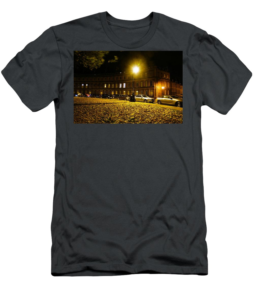 Georgian Men's T-Shirt (Athletic Fit) featuring the photograph The Circus At Night by Ron Harpham