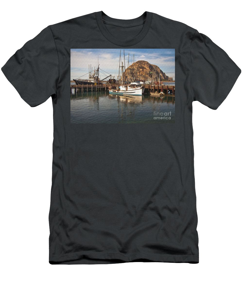 Morro Bay Men's T-Shirt (Athletic Fit) featuring the digital art The Ermeony by Sharon Foster