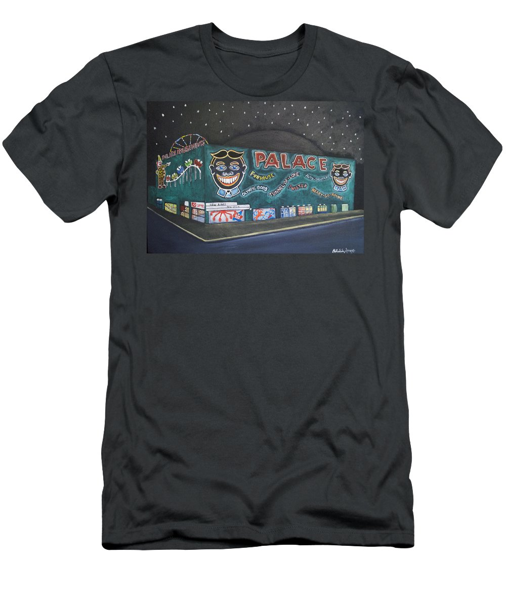 Tillie T-Shirt featuring the painting The Palace at Night by Patricia Arroyo