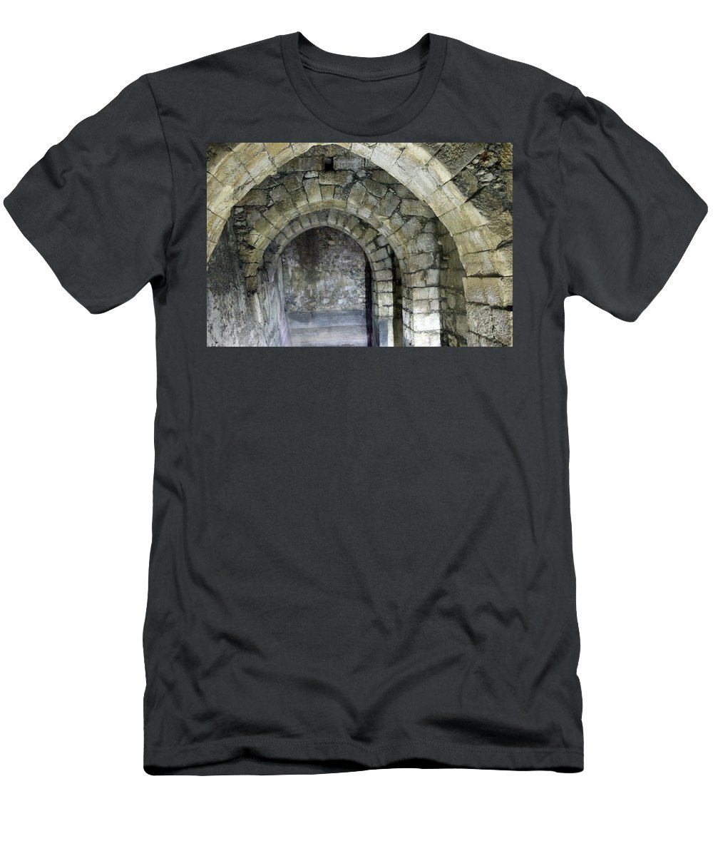 Passage Men's T-Shirt (Athletic Fit) featuring the photograph The Passage by Munir Alawi