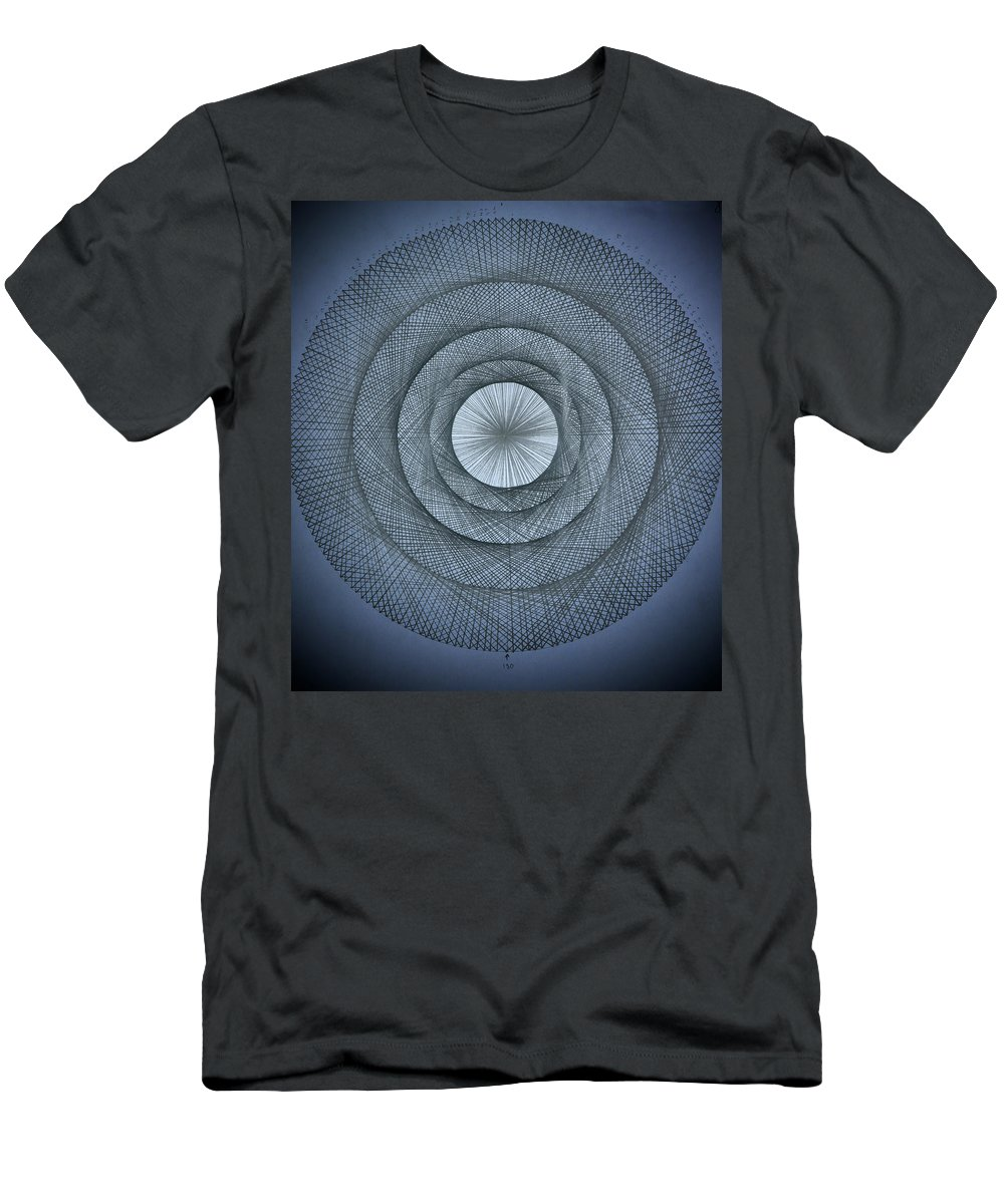 Pi Men's T-Shirt (Athletic Fit) featuring the drawing The Power Of Pi by Jason Padgett