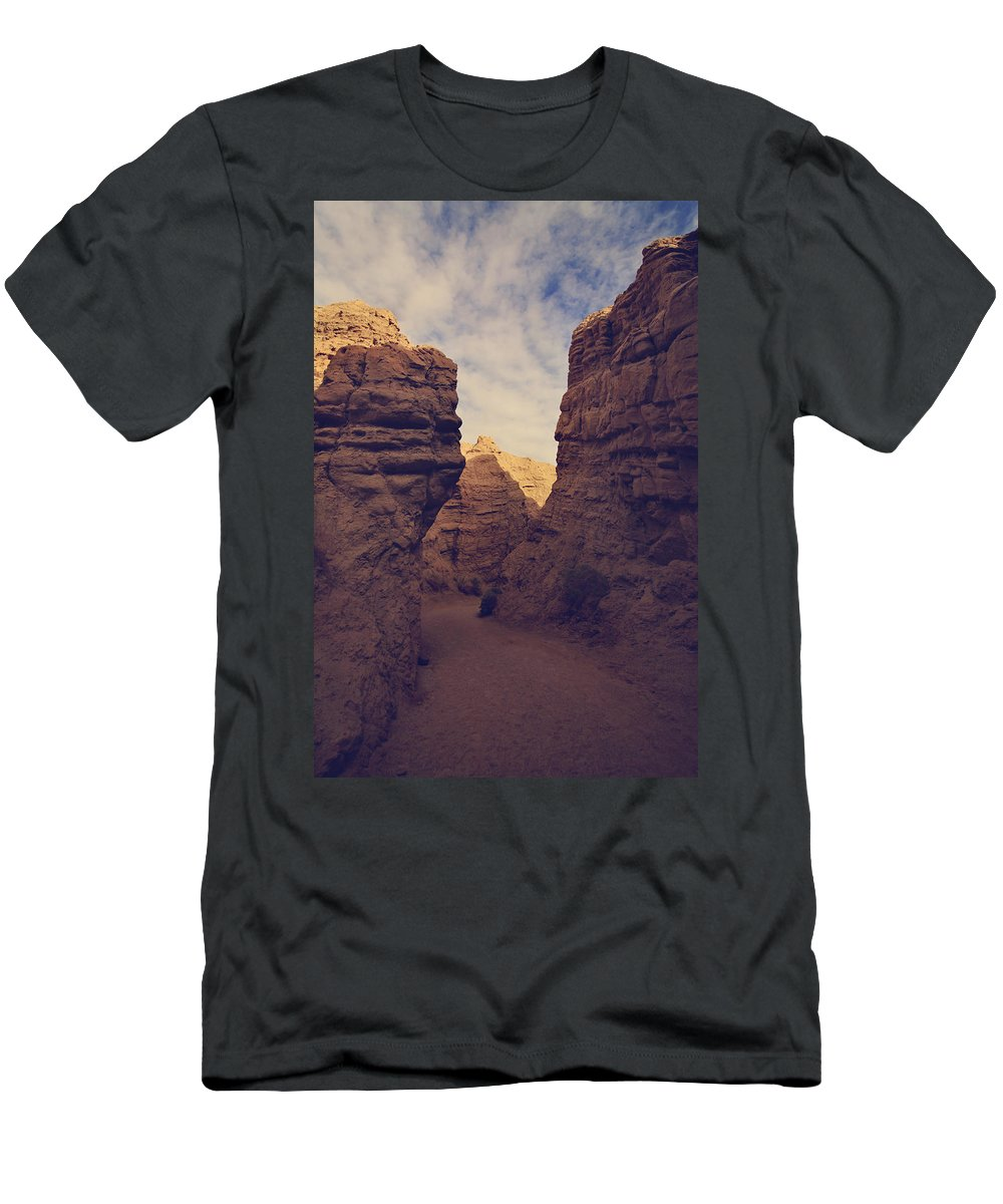 The Slot Men's T-Shirt (Athletic Fit) featuring the photograph The Pyramid by Laurie Search