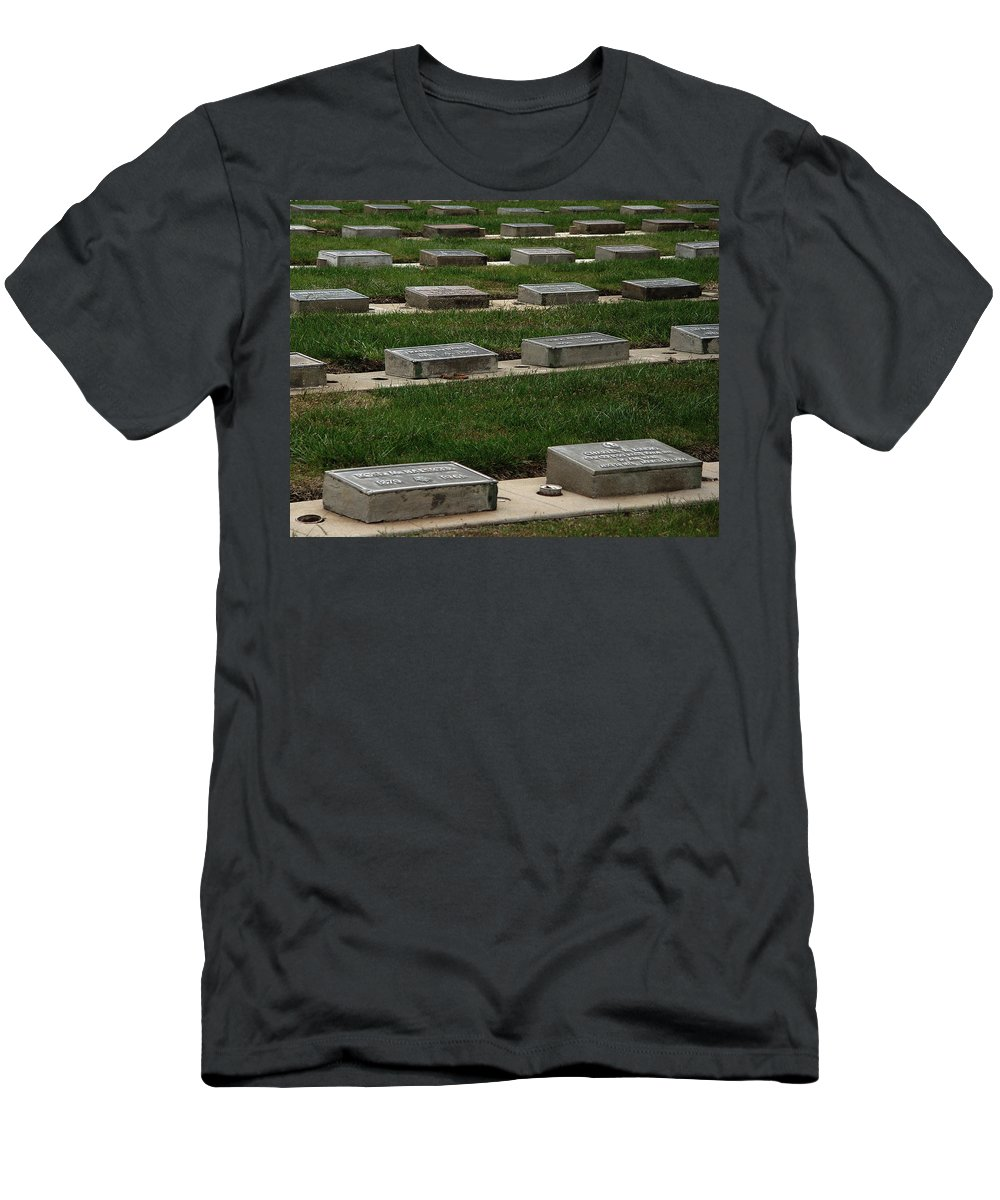 The Resting Place Men's T-Shirt (Athletic Fit) featuring the photograph The Resting Place by Peter Piatt