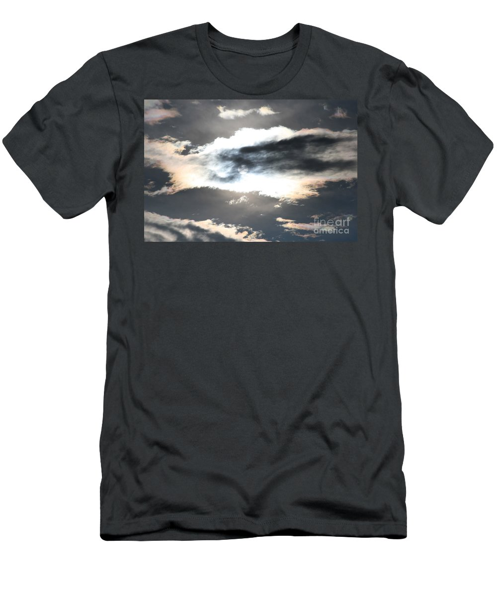 Sharon Mau Men's T-Shirt (Athletic Fit) featuring the photograph The Secret Sky by Sharon Mau