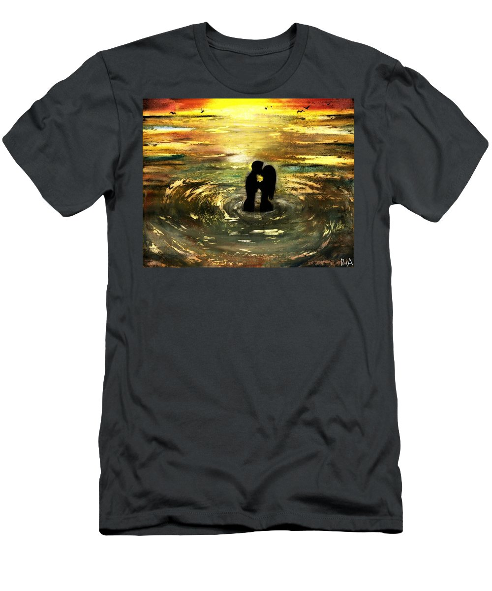 Beautiful T-Shirt featuring the photograph The Vow by Artist RiA