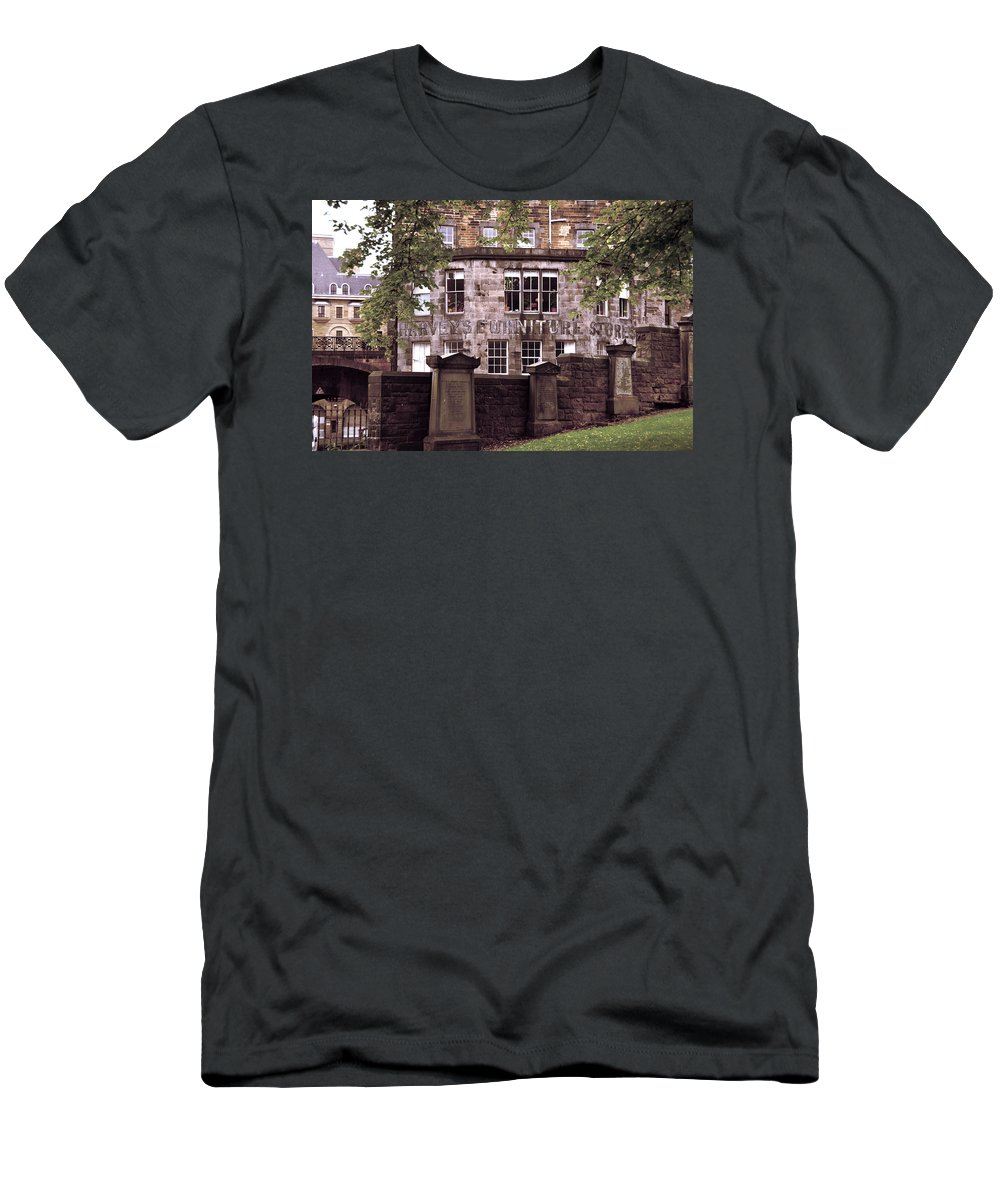 Large Window Men's T-Shirt (Athletic Fit) featuring the photograph The Window Where Was Born Harry Potter' by RicardMN Photography