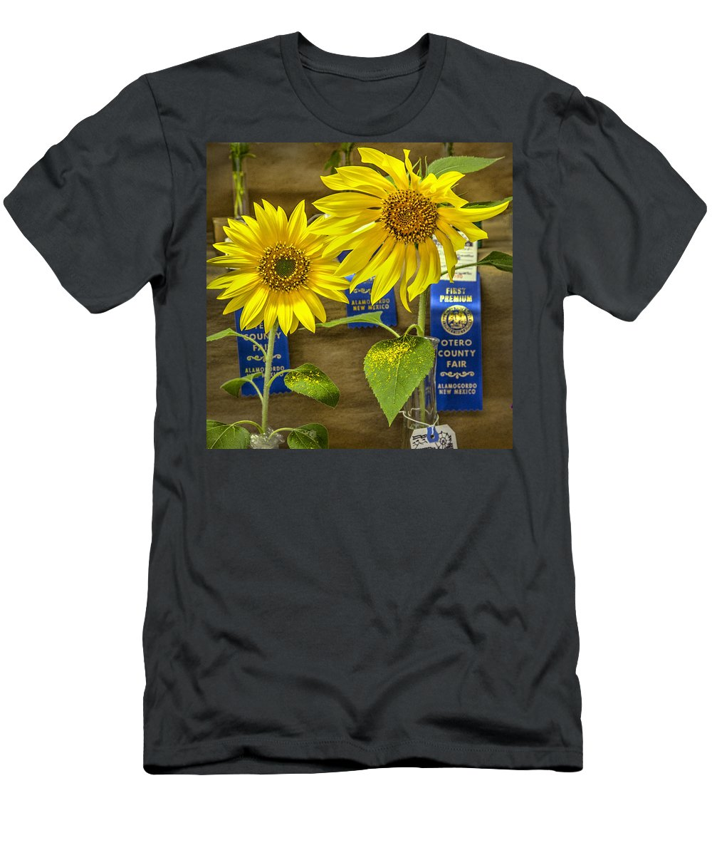 County Fair Men's T-Shirt (Athletic Fit) featuring the photograph The Winners by Diana Powell
