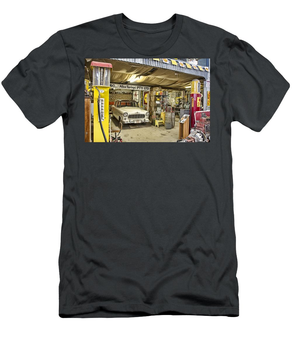 Workshop Men's T-Shirt (Athletic Fit) featuring the photograph The Workshop V3 by Douglas Barnard