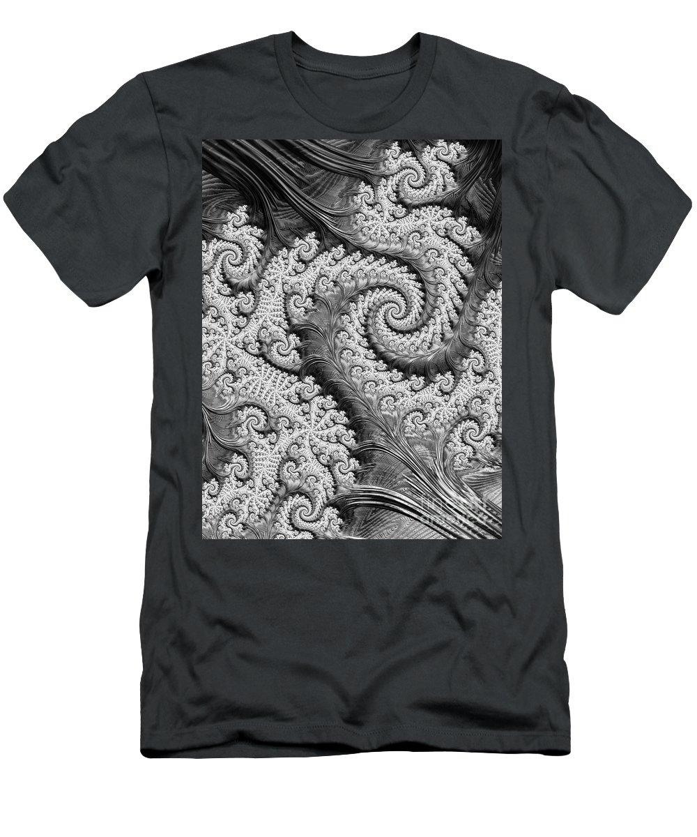 Art Men's T-Shirt (Athletic Fit) featuring the digital art There's A Chill In The Air by Heidi Smith