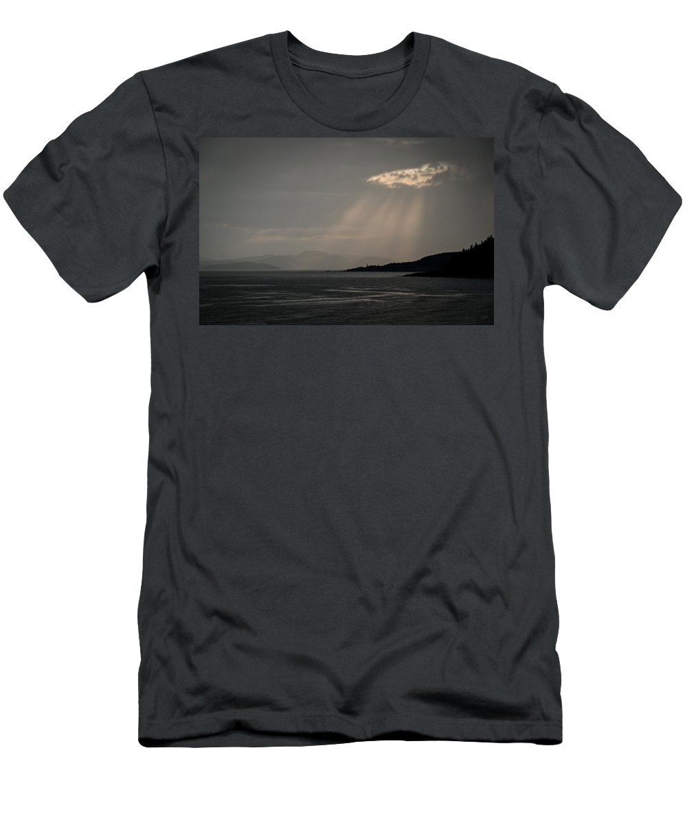 Canada Men's T-Shirt (Athletic Fit) featuring the photograph Threshold by Doug Gibbons