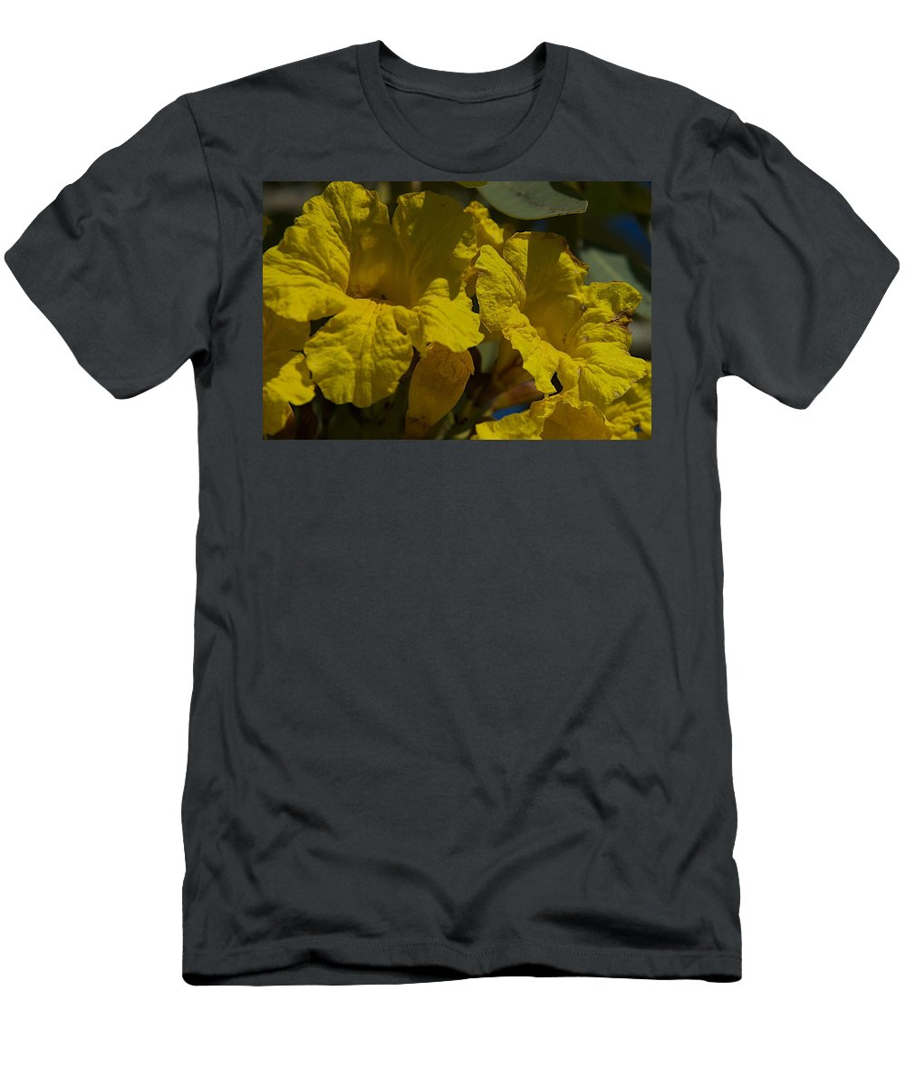 Blossoms Men's T-Shirt (Athletic Fit) featuring the photograph Too Late by Joseph Yarbrough