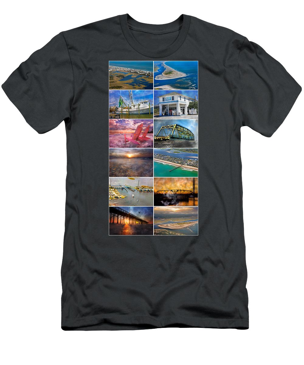 Topsial Men's T-Shirt (Athletic Fit) featuring the photograph Topsail Glory by Betsy Knapp