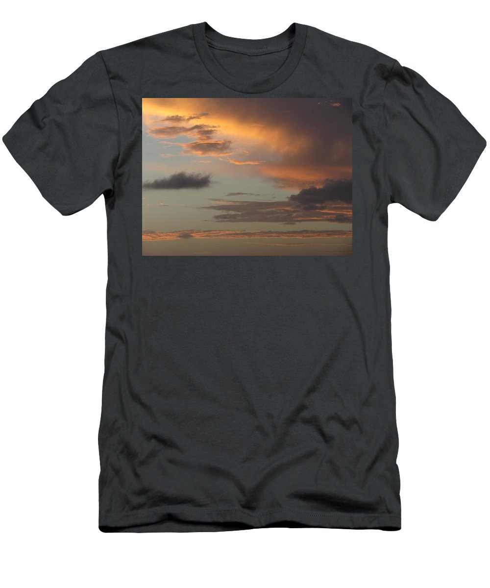 Puerto Rico Men's T-Shirt (Athletic Fit) featuring the photograph Tropical Sunset Sky by Anita Burgermeister